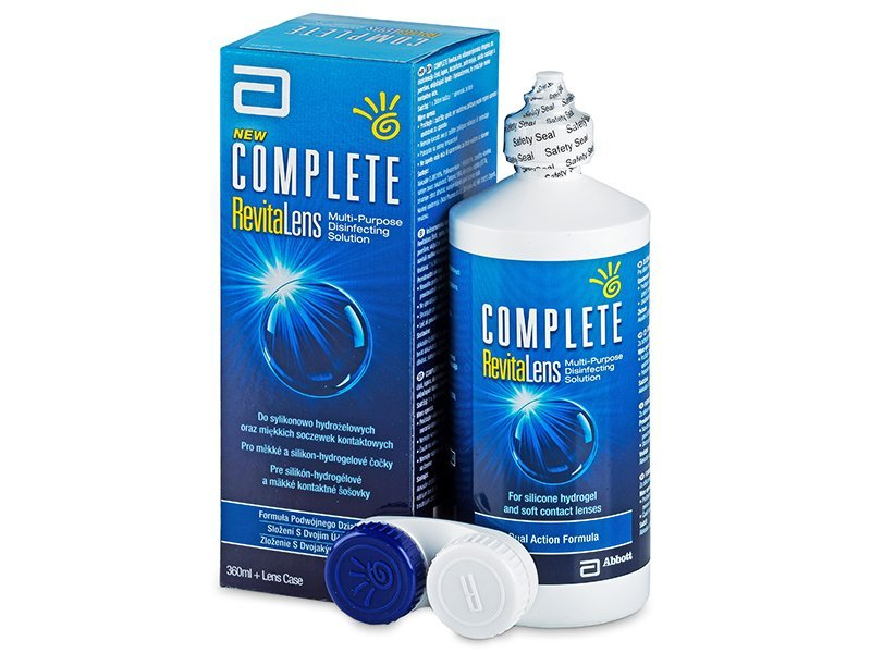 Soluzione Complete RevitaLens 360 ml  - Cleaning solution