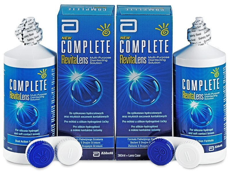 Economy duo pack - solution - Soluzione Complete RevitaLens 2 x 360 ml