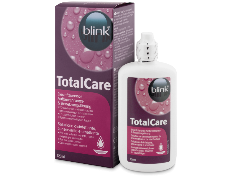 Soluzione Total Care 120ml  - Cleaning solution