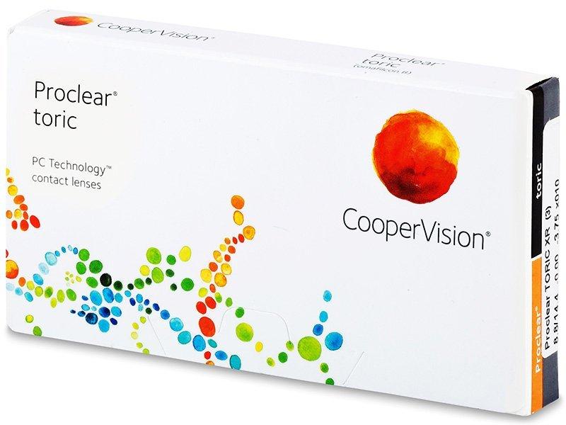Proclear Toric XR (3lenti) - Toric contact lenses