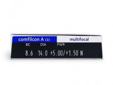 Biofinity Multifocal (3 lenti) - Attributes preview