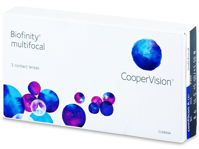Biofinity Multifocal (3 lenti) - Multifocal contact lenses