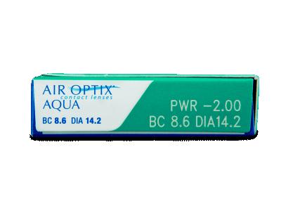 Air Optix Aqua (3lenti) - Attributes preview