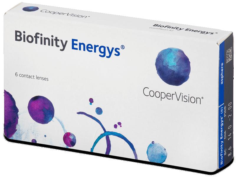Biofinity Energys (6 lenti) - Monthly contact lenses