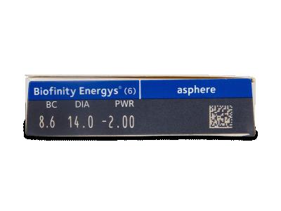 Biofinity Energys (6 lenti) - Attributes preview