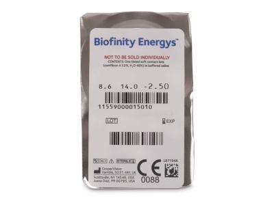 Biofinity Energys (6 lenti) - Blister pack preview