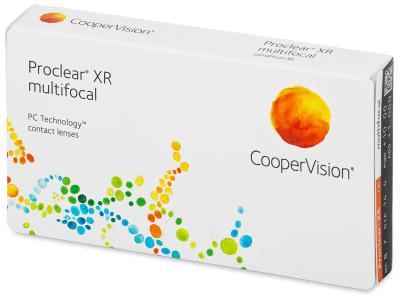 Proclear Multifocal XR (3 lenti) - Multifocal contact lenses