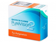 Lenti a contatto Bausch and Lomb - PureVision 2 for Astigmatism (6 lenti)