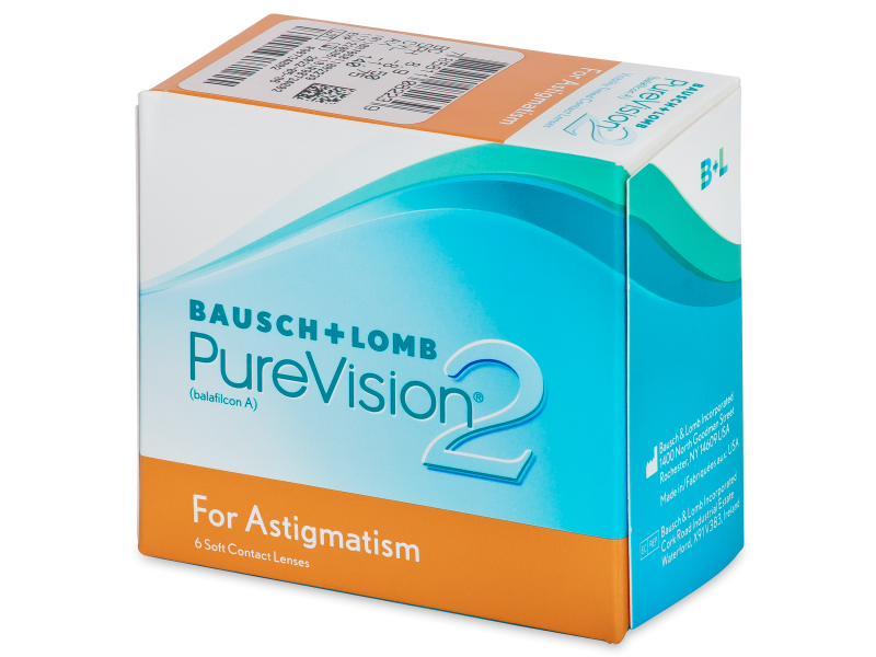 PureVision 2 for Astigmatism (6 lenti) - Toric contact lenses