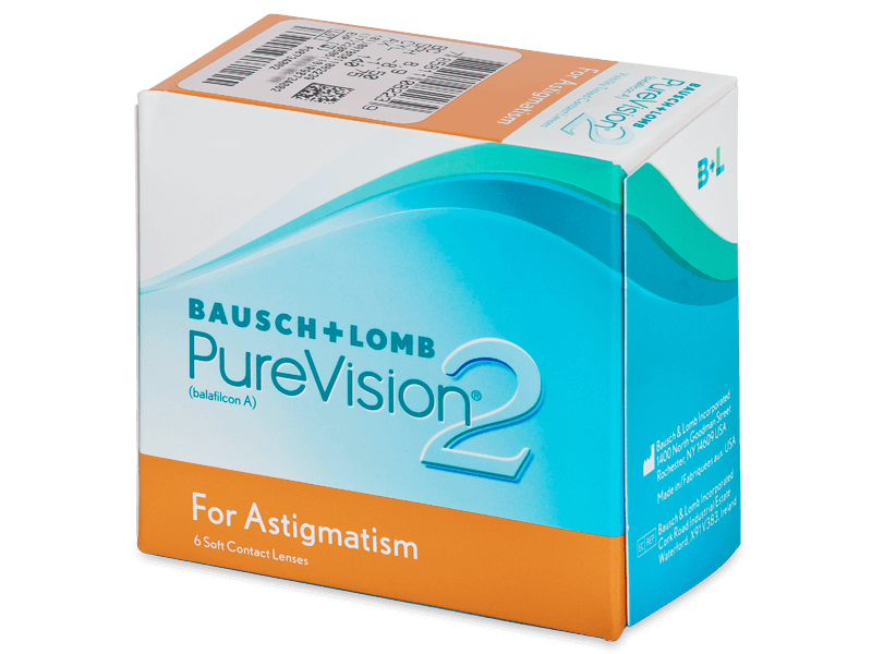 PureVision 2 for Astigmatism (6lenti) - Toric contact lenses