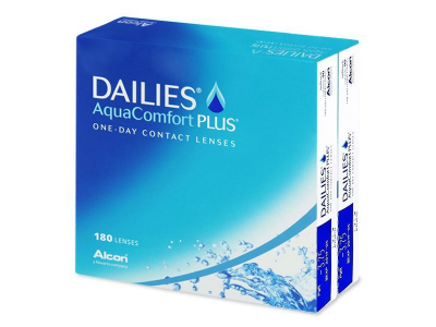 Dailies AquaComfort Plus (180 lenti) - Previous design