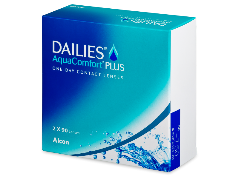 Dailies AquaComfort Plus (180 lenti) - Daily contact lenses
