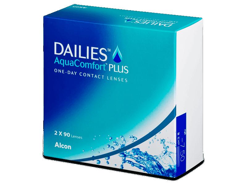Dailies AquaComfort Plus (180lenti) - Daily contact lenses