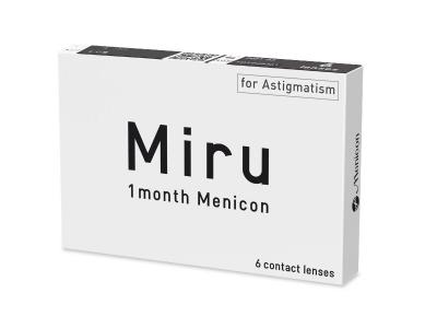Miru 1 Month Menicon for Astigmatism (6 lenti) - Previous design