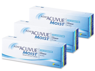 1 Day Acuvue Moist for Astigmatism (90 lenti)