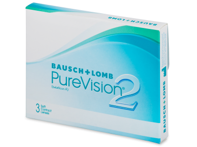 PureVision 2 (3 lenti) - Monthly contact lenses
