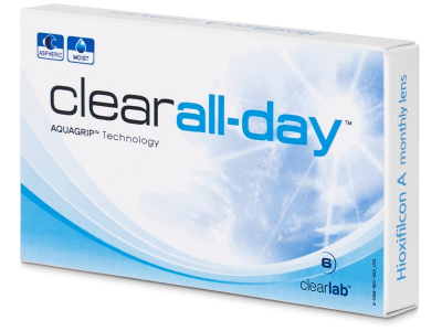 Clear All-Day (6 lenti) - Monthly contact lenses