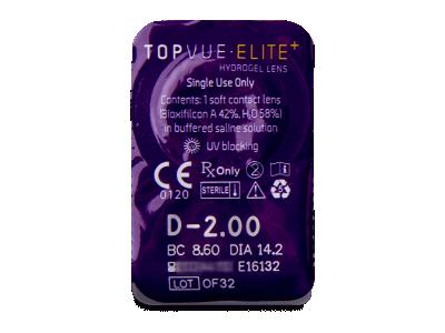 TopVue Elite+ (10 lenti) - Blister pack preview