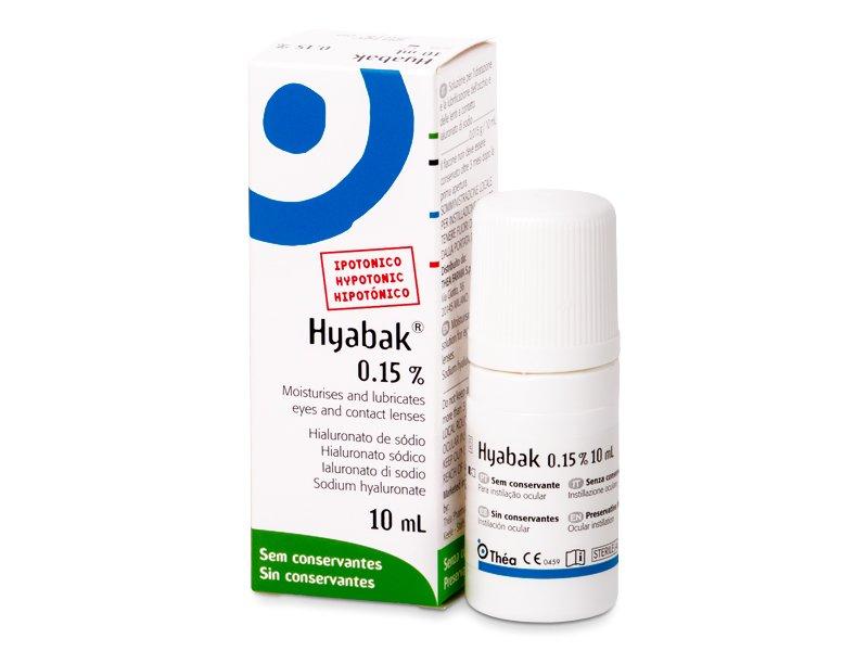 Gocce oculari Hyabak 0.15% - 10 ml  - Eye drops