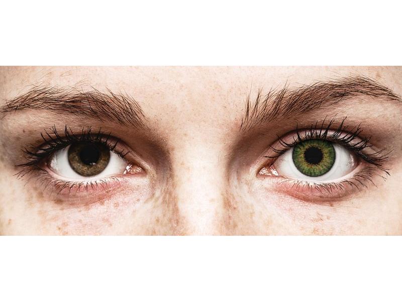 Air Optix Colors - Green - correttive (2lenti)