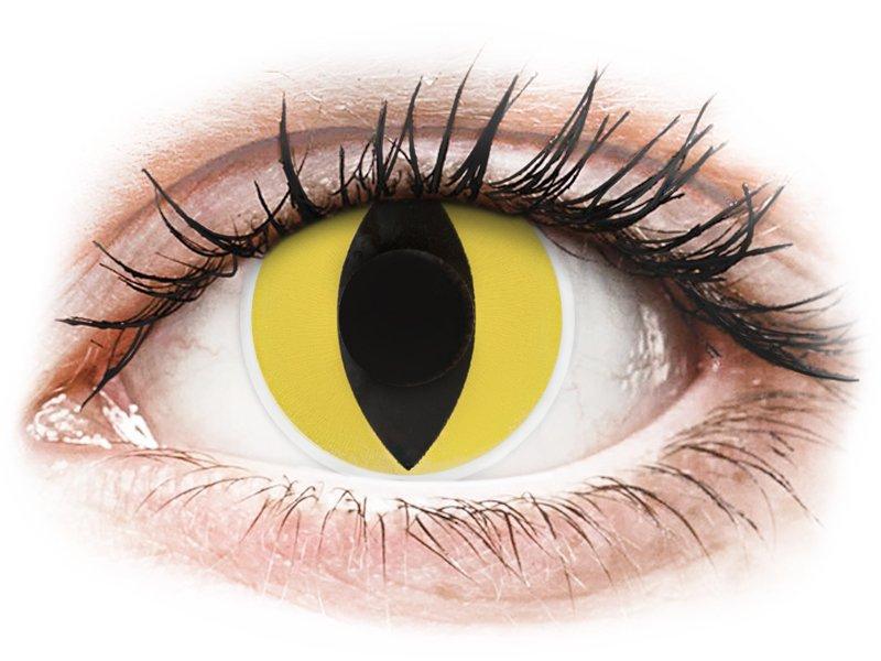 ColourVUE Crazy Lens - Cat Eye - non correttive (2 lenti) - Coloured contact lenses