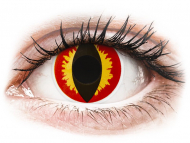 Lenti colorate - ColourVUE Crazy Lens - Dragon Eyes - non correttive (2 lenti)