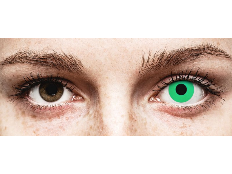 ColourVUE Crazy Lens - Emerald (Green) - non correttive (2 lenti)