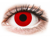 Lenti colorate - ColourVUE Crazy Lens - Red Devil - non correttive (2 lenti)
