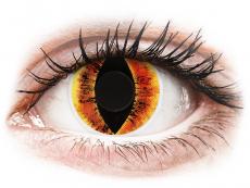ColourVUE Crazy Lens - Saurons Eye - non correttive (2 lenti)