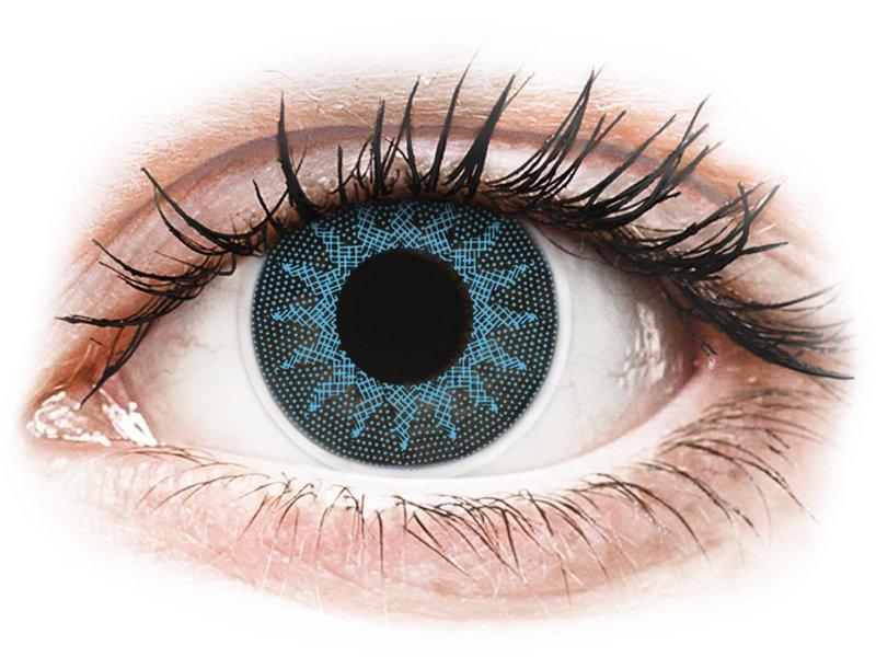 ColourVUE Crazy Lens - Solar Blue - non correttive (2 lenti)