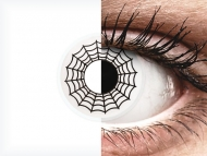 ColourVUE Crazy Lens - Spider - non correttive (2 lenti)