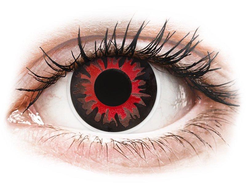 ColourVUE Crazy Lens - Red Volturi - non correttive (2 lenti)