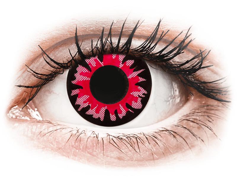 ColourVUE Crazy Lens - Red Volturi - non correttive (2 lenti) - Coloured contact lenses