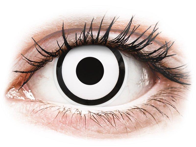 ColourVUE Crazy Lens - White Zombie - non correttive (2 lenti)
