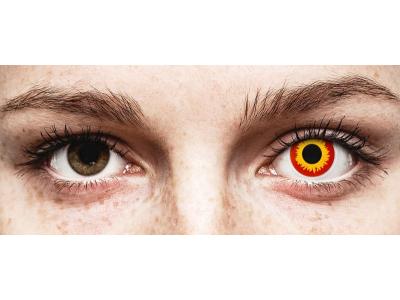 ColourVUE Crazy Lens - Wildfire - non correttive (2 lenti)