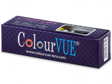 ColourVUE Crazy Lens - WhiteOut - non correttive (2 lenti)