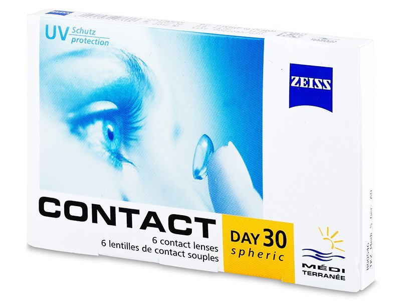 Carl Zeiss Contact Day 30 Spheric (6lenti) - Monthly contact lenses