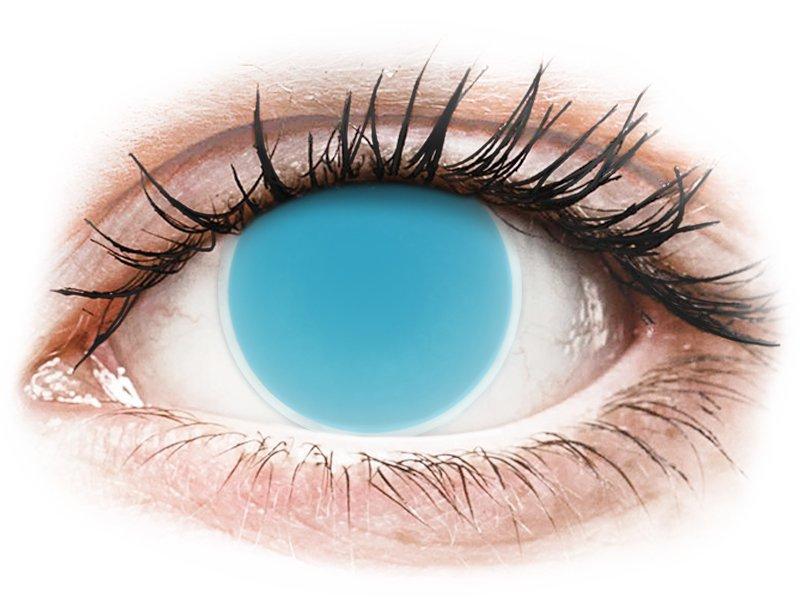 ColourVUE Crazy Glow Electric Blue - non correttive (2lenti) - Coloured contact lenses