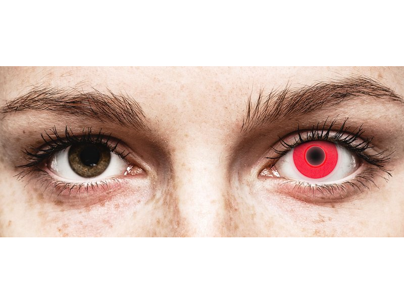 ColourVUE Crazy Glow Red - non correttive (2lenti)