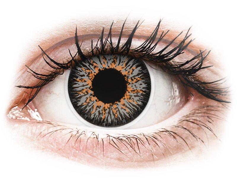 ColourVUE Glamour Grey - non correttive (2lenti) - Coloured contact lenses