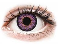 Lenti a contatto colorate - ColourVUE Glamour Violet - non correttive (2lenti)
