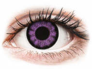 Lenti colorate - ColourVUE BigEyes Ultra Violet - non correttive (2 lenti)