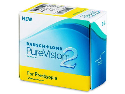 PureVision 2 for Presbyopia (6 lenti) - Previous design