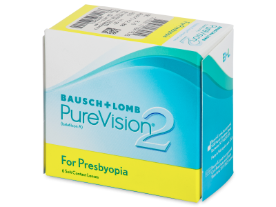PureVision 2 for Presbyopia (6 lenti) - Multifocal contact lenses