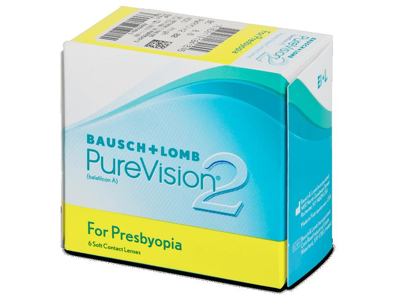 PureVision 2 for Presbyopia (6lenti) - Multifocal contact lenses