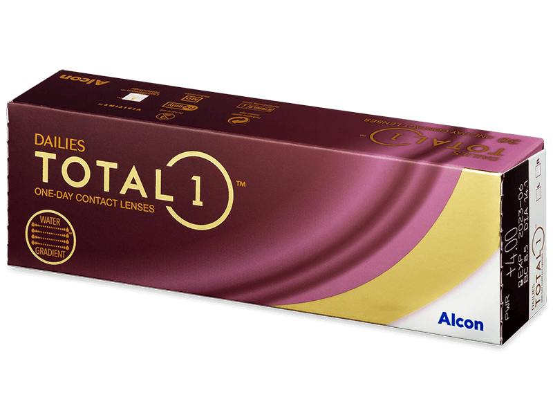 Dailies TOTAL1 (30lenti) - Daily contact lenses