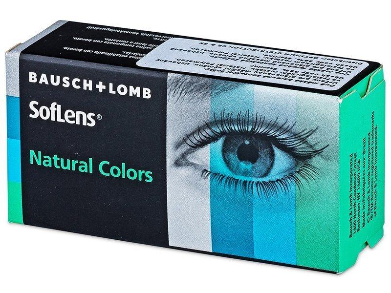 SofLens Natural Colors Emerald - non correttive (2 lenti) - SofLens Natural Colors Emerald - non correttive (2 lenti)
