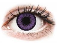 Lenti a contatto colorate non correttive - SofLens Natural Colors Indigo - non correttive (2 lenti)