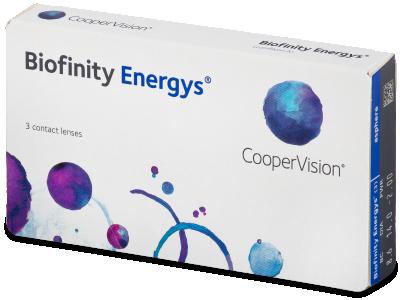 Biofinity Energys (3 lenti) - Contact lenses