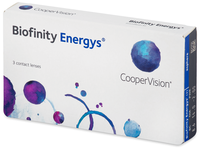 Biofinity Energys (3 lenti) - Monthly contact lenses
